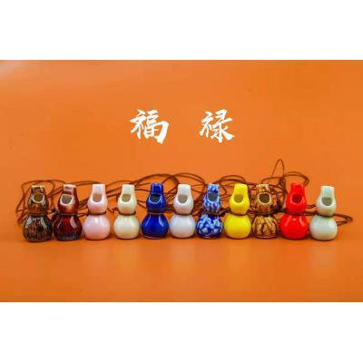 【葫芦】小号卡通陶瓷口哨KS236